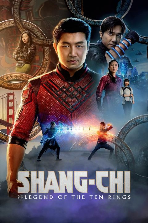 Official Shang-Chi and the Legend of the Ten Rings (2021) Movie Poster